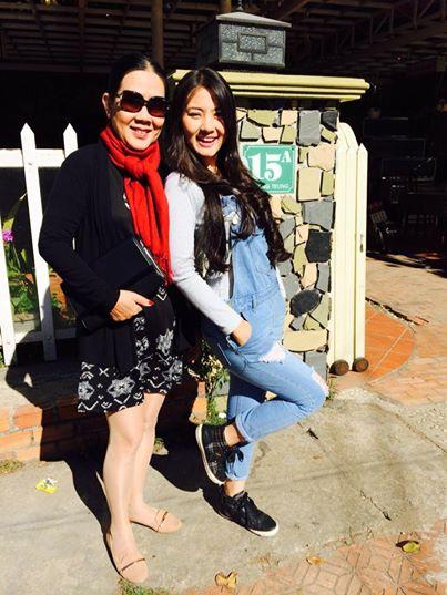 Ngọc Lan và mẹ
