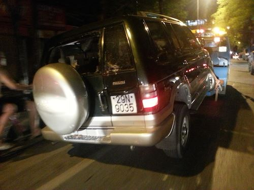 Chiếc xe điên gây tai nạn