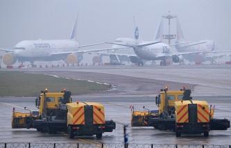 Sân bay quốc tế Nga Vnukovo. Ảnh: Itar Tass