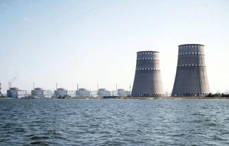 Nhà máy điện hạt nhân Zaporozhye. Ảnh: Tass