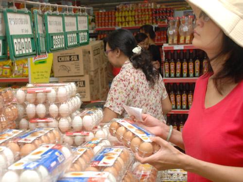 Giá trứng bình ổn đồng loạt giảm 1.000 đồng/chục từ hôm nay 5-11