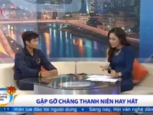 Nhân vật Lệ Rơi khiến công chúng ngỡ ngàng khi xuất hiện trong chương trình Cuộc sống thường ngày của kênh VTV1 - Đài Truyền hình Việt Nam. (Ảnh do chương trình cung cấp)