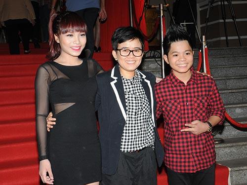 Ca sĩ Vũ Thảo My, nhạc sĩ Phương Uyên và ca sĩ Nguyễn Quang Anh