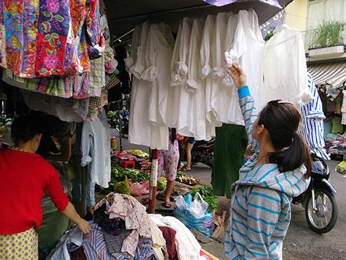 Một điểm bán hàng sida ở TP HCM  Ảnh: Hồng Thúy