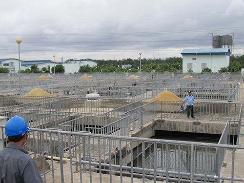 Nhà máy xử lý nước thải Bình Hưng là nhà máy xử lý nước thải tập trung duy nhất tại TP HCM.