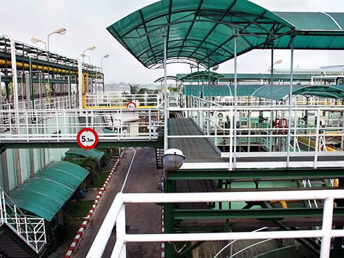 Khu xử lý nước thải của Công ty Ajinomoto Việt Nam tại nhà máy ở Biên Hòa, tỉnh Đồng Nai