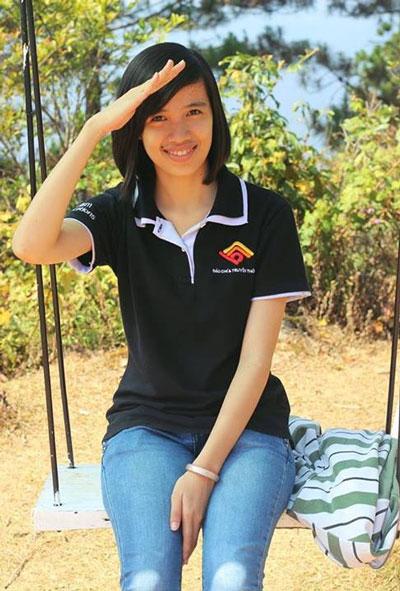 Nguyễn Hoàng Nam và Trần Nữ Vi Linh. (Ảnh do nhân vật cung cấp)