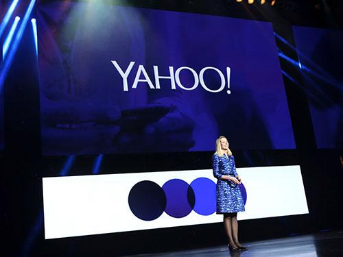 CEO Yahoo! Marissa Mayer công bố doanh thu quý I/2014 Nguồn: NEW YORK TIMES