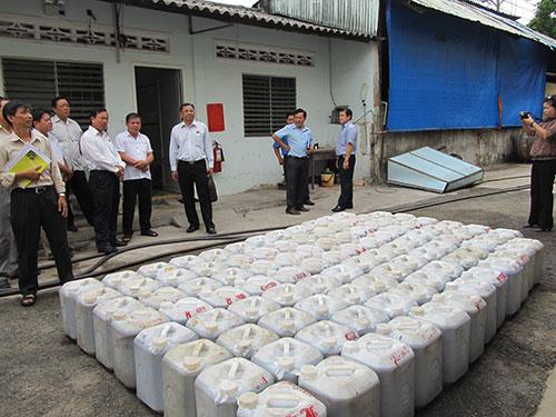 HĐND TP HCM giám sát Công ty Nước mắm Việt Hương Hải