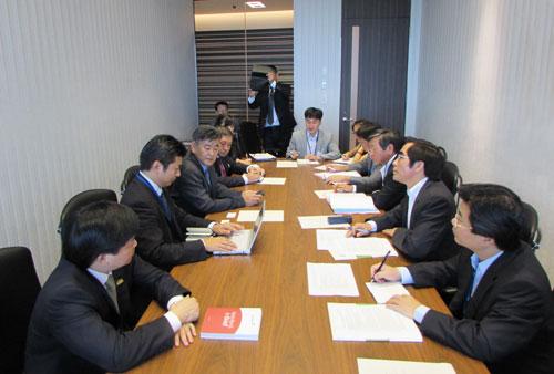 Đoàn công tác VietinBank làm việc tại Nhật Bản