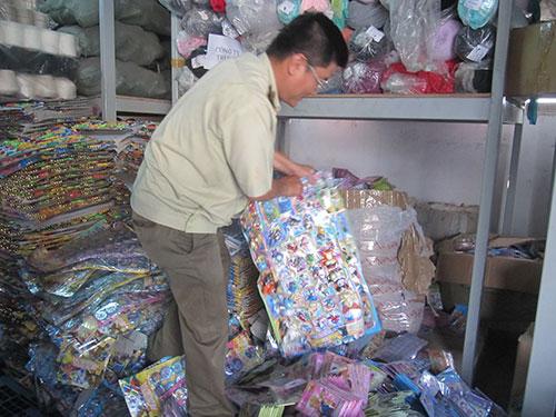 Các loại đồ chơi Trung Quốc bị bắt giữ