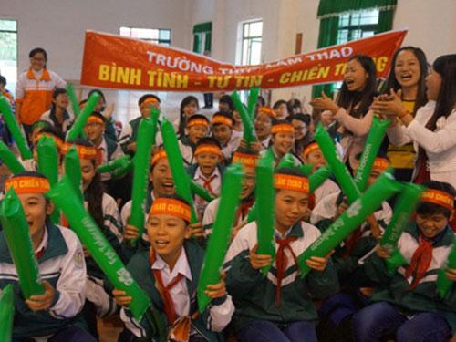"""Học sinh hào hứng tham gia cuộc thi """"Đỉnh núi trí tuệ"""" tại tỉnh Phú Thọ"""