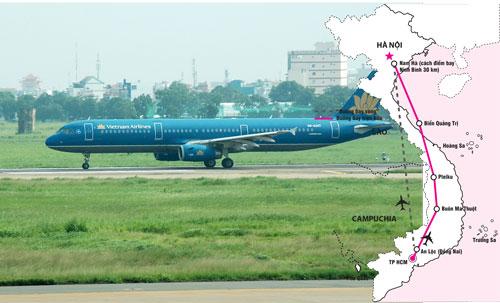 Nhiều hãng hàng không đang khấp khởi chờ đợi đường bay vàng Ảnh, đồ họa: TẤN THẠNH - FƯƠNG ANH