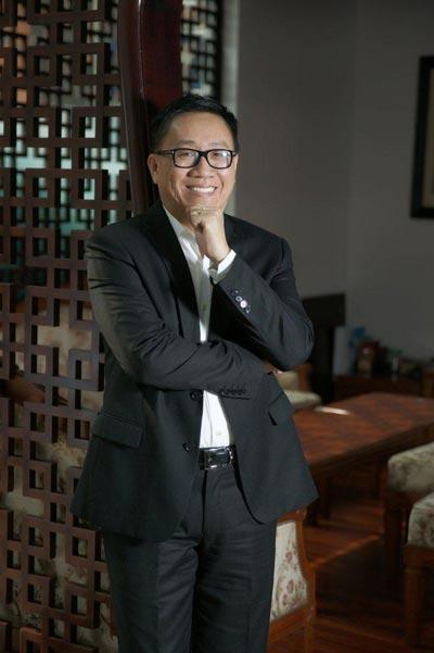 """Ông Nguyễn Lâm Viên được vinh danh là """"Doanh nhân dẫn đầu của ASEAN kinh doanh tại Trung Quốc"""". (Ảnh do Vinamit cung cấp)"""