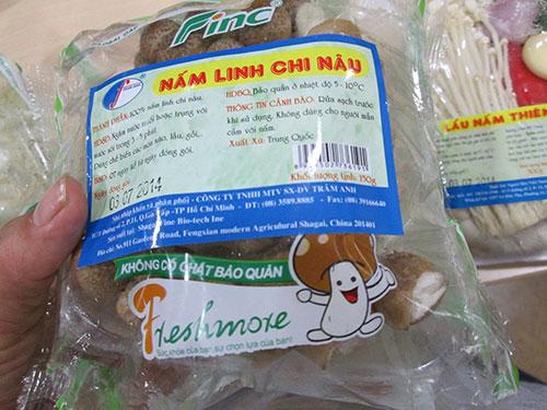 Nấm Trung Quốc vẫn có chỗ đứng trên thị trường do nấm Việt chưa đa dạng chủng loại và mau hư vì không có công nghệ bảo quản Ảnh: NGỌC ÁNH