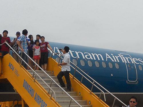 Tổng Công ty Hàng không Việt Nam đang phấn đấu trở thành hãng hàng không đứng thứ ba Đông Nam Á Ảnh: TẤN THẠNH