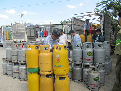 Màu vỏ bình đang quyết định đến giá gas