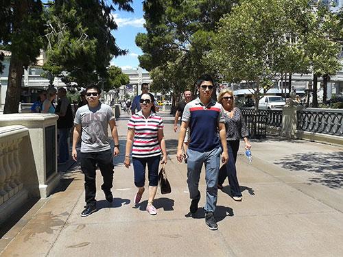 Người Việt du lịch xa ngày càng nhiều, trong đó có các điểm đến ở Mỹ Ảnh: NGUYỄN HÒA