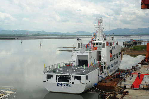 Tính đến tháng 9-2014, SBIC đã bàn giao được 36/71 tàu