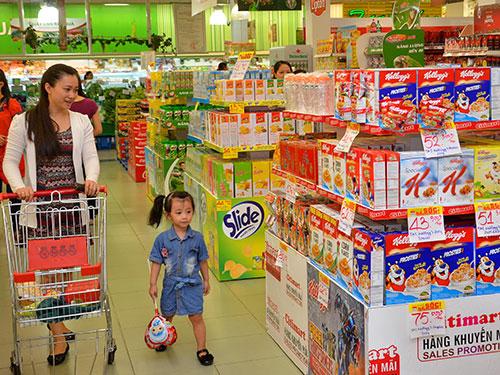 """Công ty TNHH TM DV Đông Hưng, chủ sở hữu chuỗi siêu thị Citimart, vừa """"bắt tay"""" với Tập đoàn Aeon (Nhật Bản) và đổi tên siêu thị thành Aeon CitimartẢnh: Tấn Thạnh"""