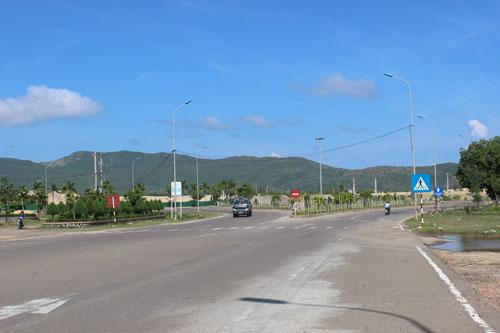 Khu Kinh tế Nhơn Hội - nơi PTT sắp triển khai dự án tổ hợp lọc hóa dầu  Ảnh: ANH TÚ