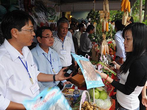 TP HCM liên kết với các tỉnh về tiêu thụ hàng hóa nông sản Ảnh: Hồng Thúy