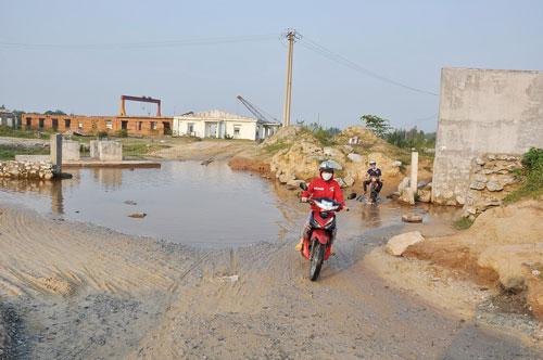 Khu vực thực hiện dự án Nhà máy Thép Guang Lian hiện vẫn là bãi đất trống
