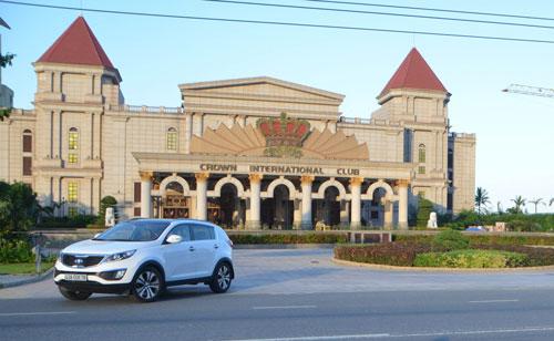 Khu vui chơi có thưởng của Silver Shores Hoàng Đạt (TP Đà Nẵng) là một trong những casino lớn nhất Việt Nam Ảnh: BÍCH VÂN