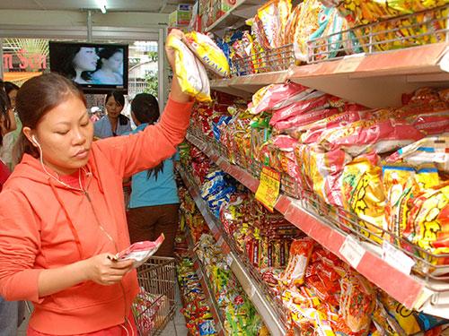 Thị trường hàng tiêu dùng của Việt Nam rất tiềm năng cho các doanh nghiệp tham gia Ảnh: TẤN THẠNH