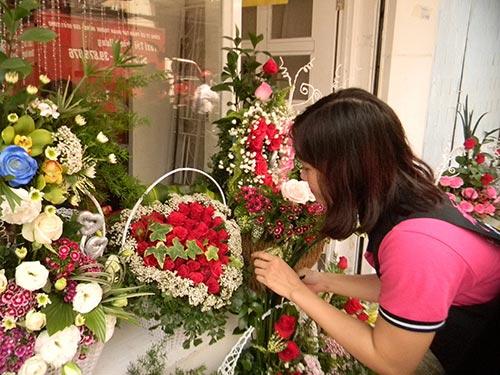Hồng nhung vẫn được chuộng nhất vì là loài hoa biểu tượng của tình yêu