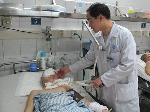 Những bệnh nhân nặng phải thở máy thường có nguy cơ cao bị kháng thuốc kháng sinh