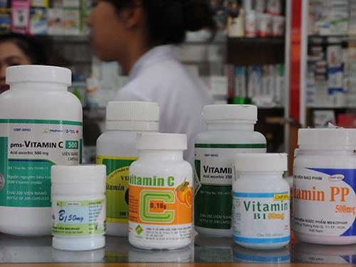 Vitamin hoạt động như những chất chống ôxy hóa trong cơ thể Ảnh: HỒNG THÚY