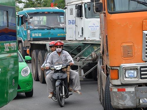 Những tai nạn giao thông xảy ra thường do người lái xe xử lý kém hoặc phán đoán saiẢnh: TẤN THẠNH