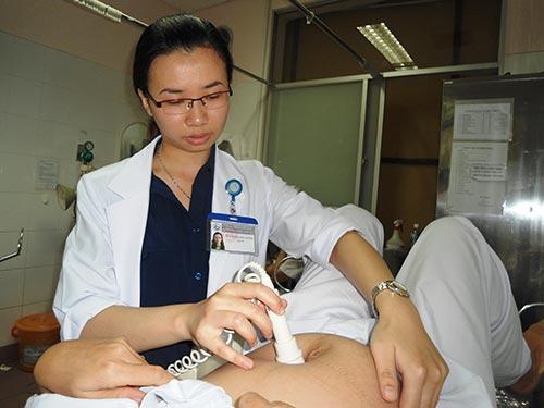 Khám thai tại Bệnh viện Từ Dũ