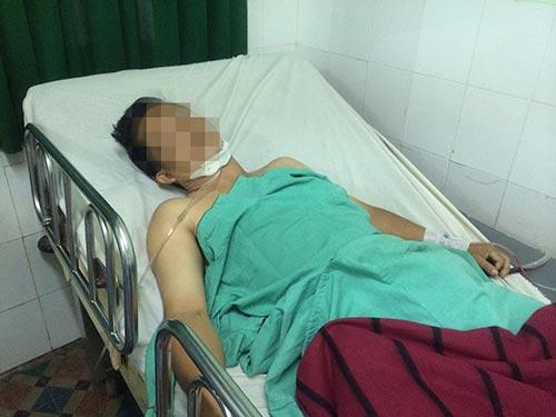 Một trường hợp thủng tim vừa được Bệnh viện Nhân dân 115 cứu sống