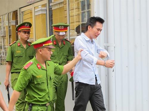 Bị cáo Lê Văn Đăng sau phiên tòa phúc thẩm