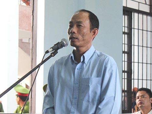 Bị cáo Nguyễn Thành Trung nói lời sau cùng trước khi HĐXX vào nghị án
