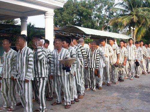 Phạm nhân cải tạo tại trại giam Z30, Bình Thuận