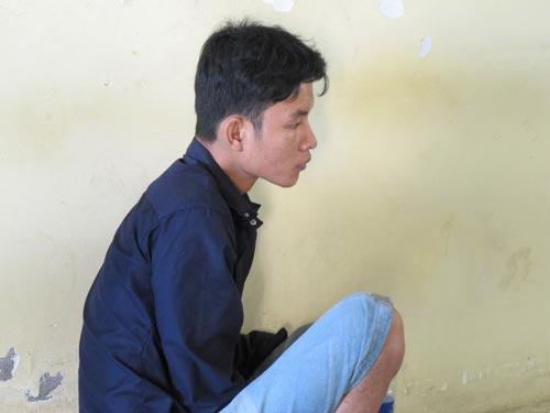 Nguyễn Minh Tuấn tại cơ quan công an
