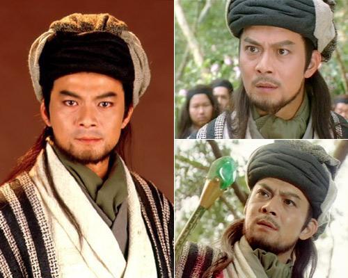 Huỳnh Nhật Hoa vai Kiều Phong phim Thiên Long Bát Bộ 1997