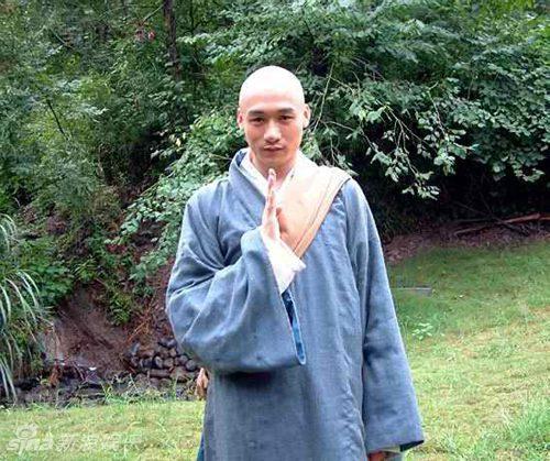 Cao Hổ với vai Hư Trúc trong Thiên long bát bộ phiên bản 2003