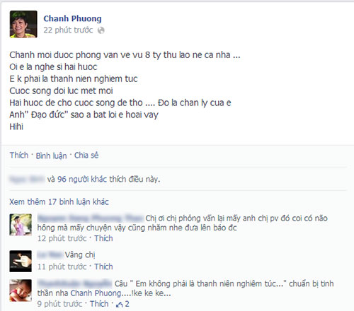 Sao Việt đùa trên Facebook: Gậy ông đập lưng ông!