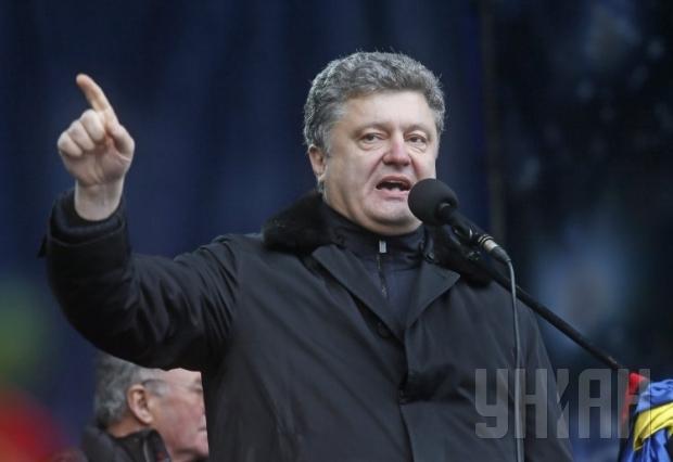 """Doanh nhân Petro Poroshenko, người được mệnh danh là """"Vua chocolate""""Ảnh: UNIAN.INFO"""