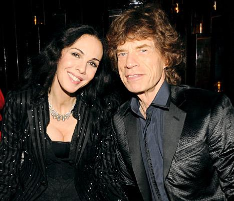 Mick Jagger và LWren Scott
