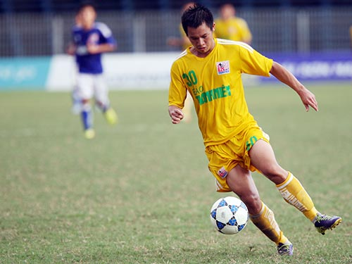 Võ Lý, người ghi cả 2 bàn cho U21 SLNA vào lưới U21 HAGL