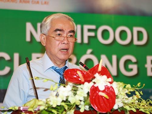 Chủ tịch VFF Lê Hùng Dũng Ảnh: QUANG LIÊM