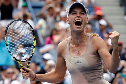 Wozniacki đứng trước cơ hội lớn trở lại trận chung kết Giải Mỹ mở rộng Ảnh: REUTERS