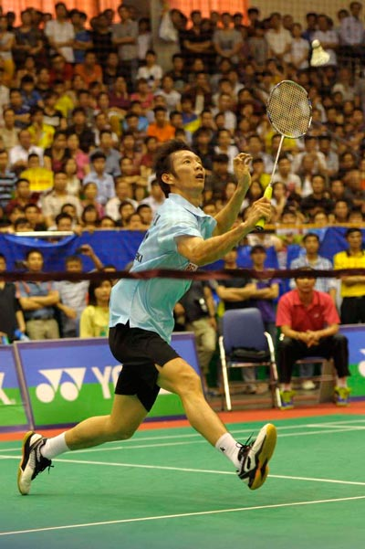 Chức vô địch ở Giải Challenge Ciputra Hà Nội 2014 tiếp thêm sự tự tin cho Tiến Minh Ảnh: HẢI ANH