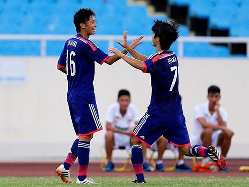 U19 Nhật Bản tạm đứng đầu bảng B sau chiến thắng 4-3 trước U19 Úc, đồng thời giúp U19 Việt Nam sớm vào bán kết Ảnh: HẢI ANH
