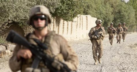 Mỹ điều động binh lính đến gần Libya. Ảnh: Reuters